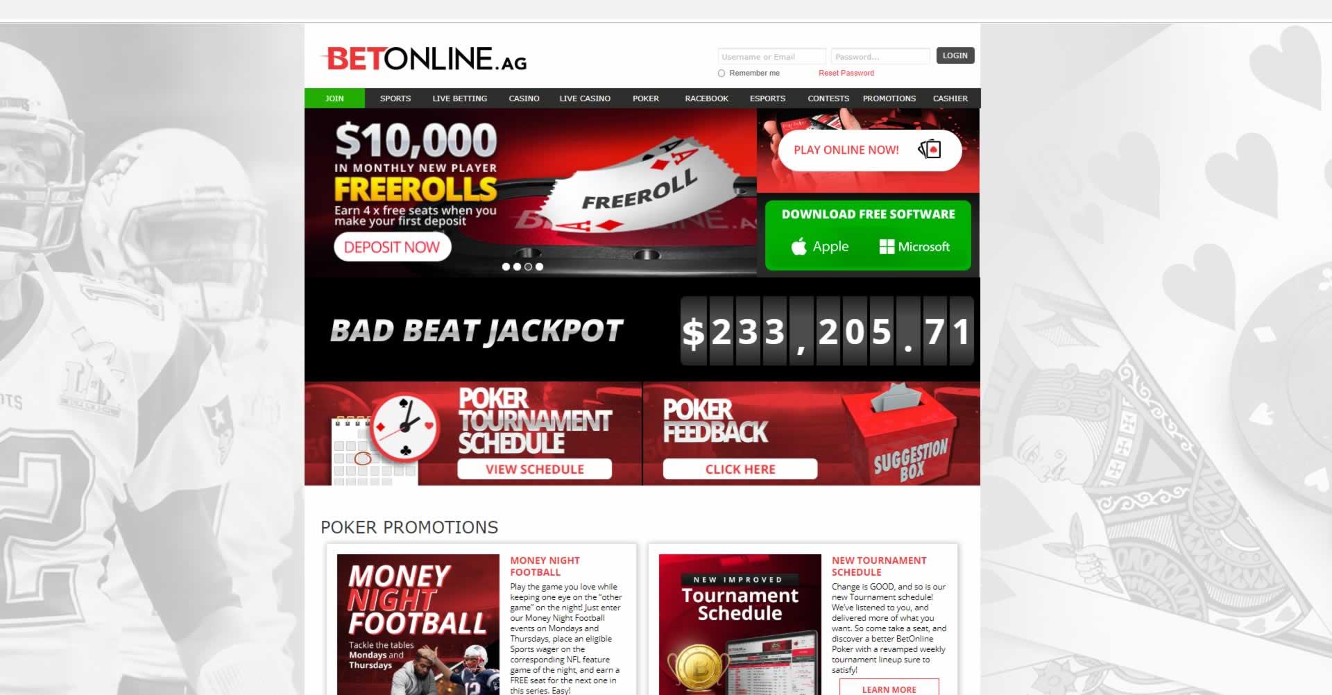 Betonline Poker Legit